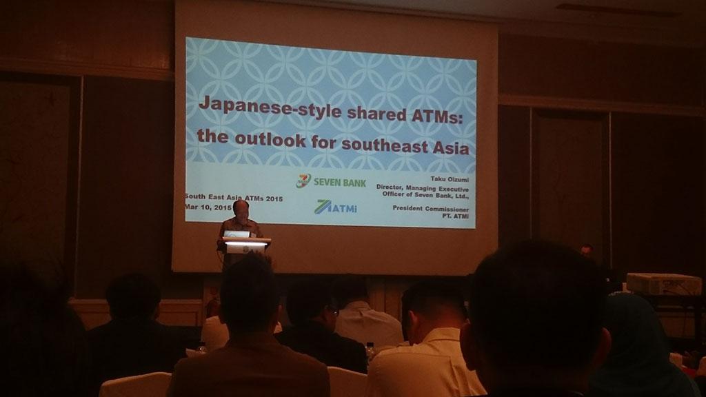 """Presiden komisaris kami memberikan pidato utama di """"Southeast Asia ATMs 2015"""""""